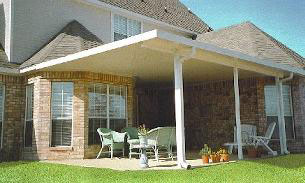 Metal Awnings - Delta Tent & Awning Company