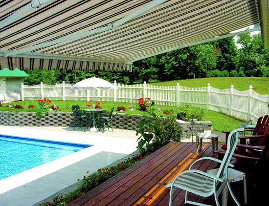 Retractable Patio Cover Awning