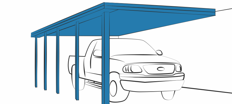 aluminum rv carport doppelkabine aluminium carport mit kunststoff dach garage 6m 5 5m double. Black Bedroom Furniture Sets. Home Design Ideas