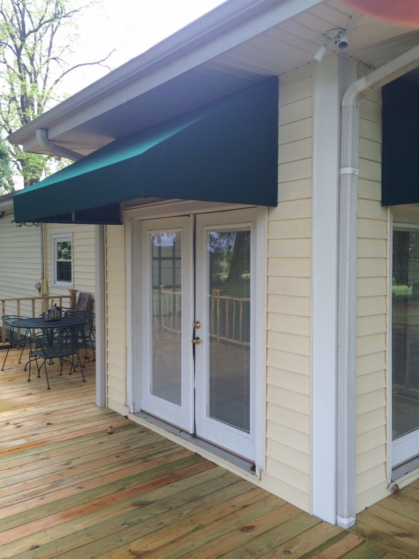House Awnings For Doors And Windows : Residential awnings delta tent awning company