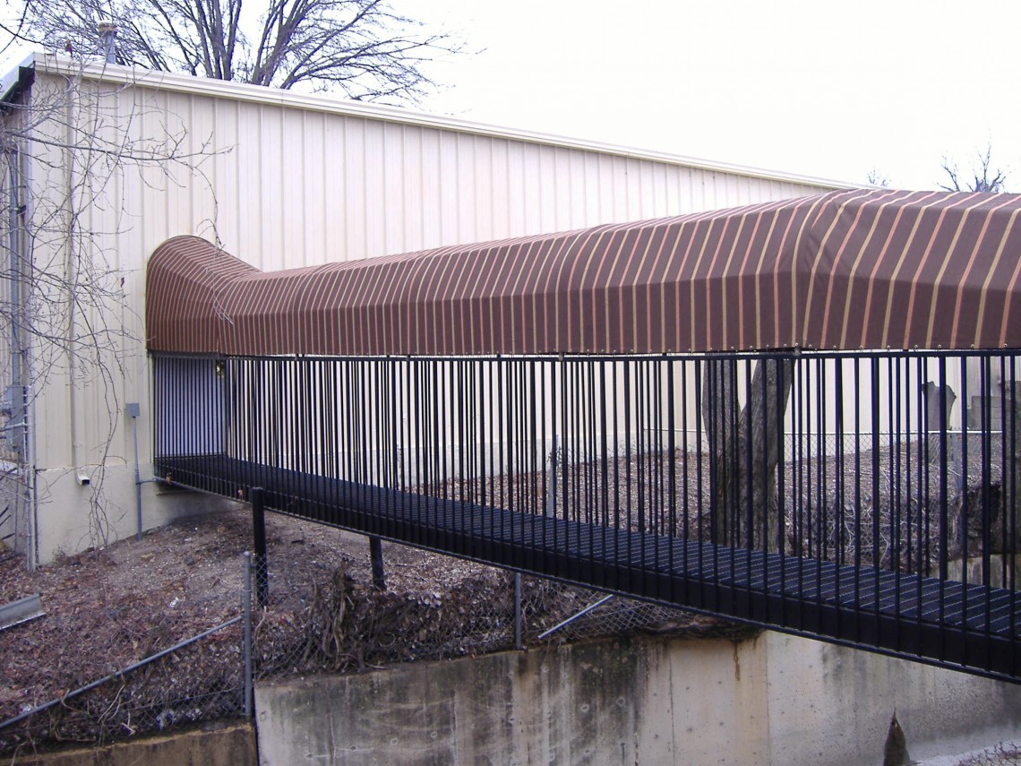 Walkway Canopy Cover - Delta Tent & Awning Company
