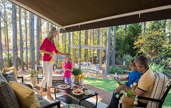 Awesome Sunbrella Retractable Patio Awning