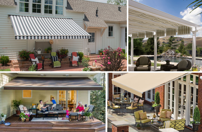 retractable patio awnings for sale