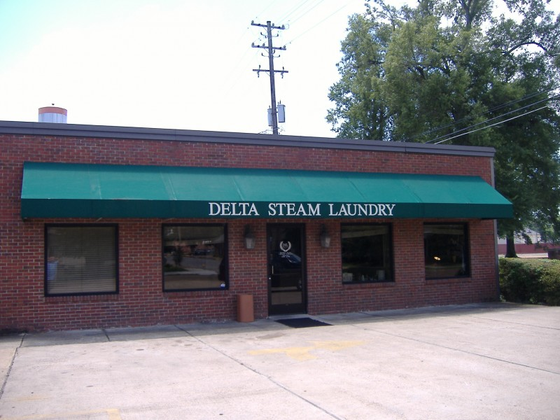 awning for delta steam laundry greenwood ms