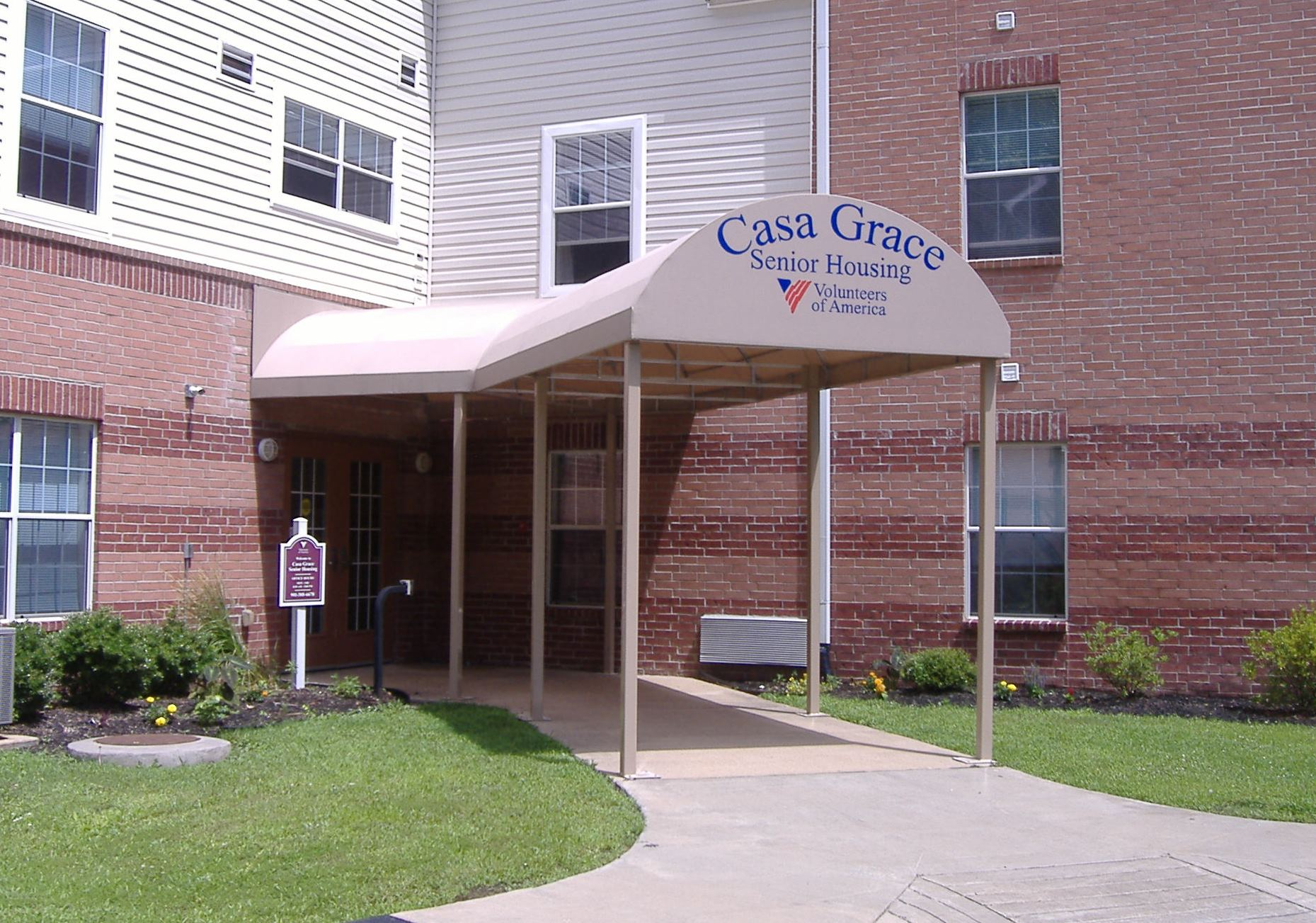 Senior Housing Awning By Delta Tent Amp Awning Company