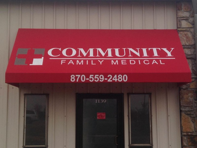community family medical awning