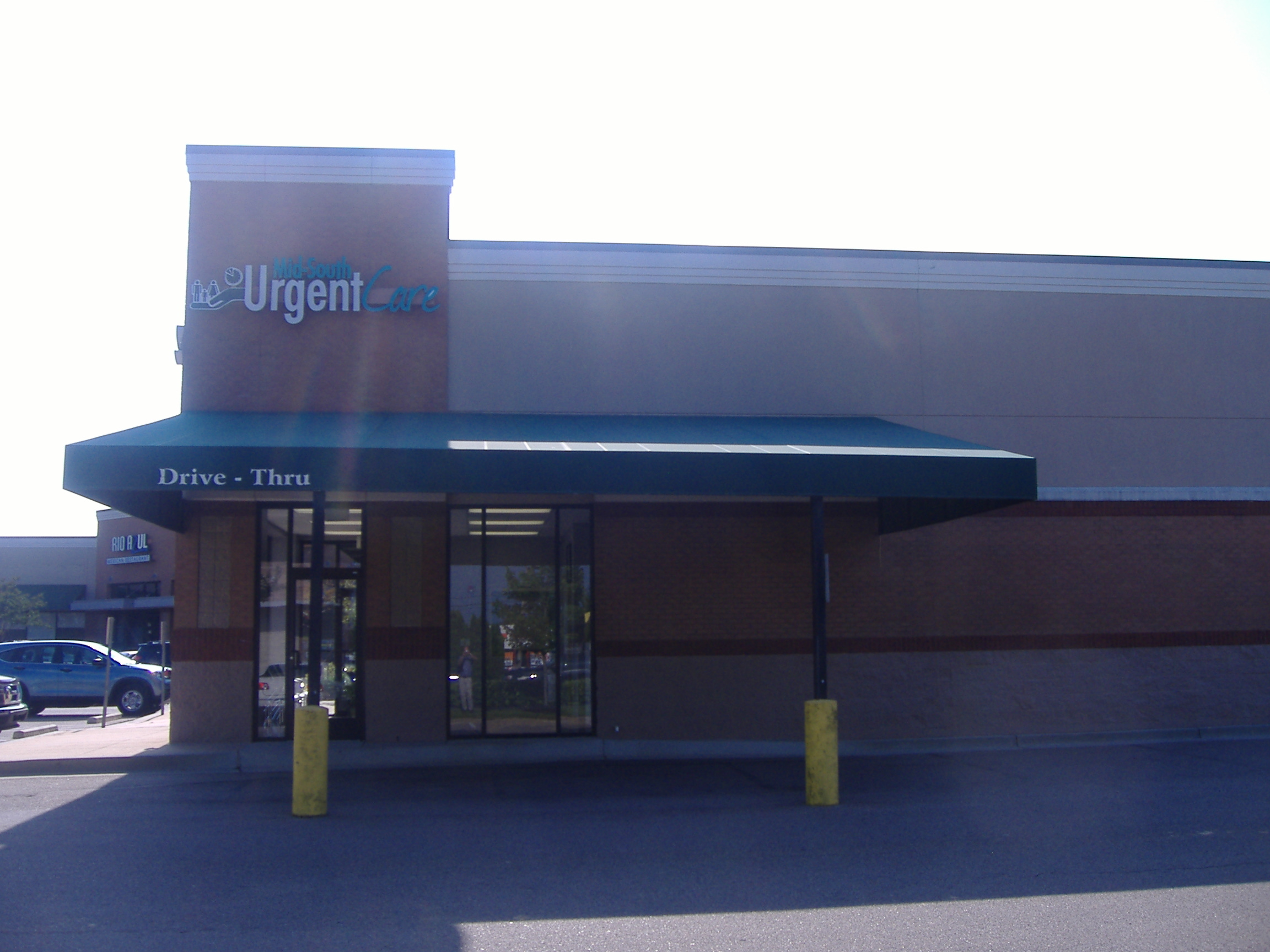 Midsouth Urgent Care Awning Delta Tent Amp Awning Company