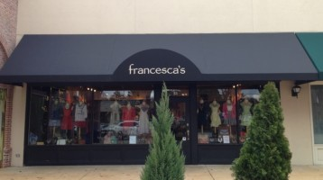 francesca's boutique awning