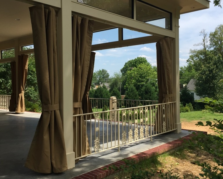 Fabric Patio Curtains