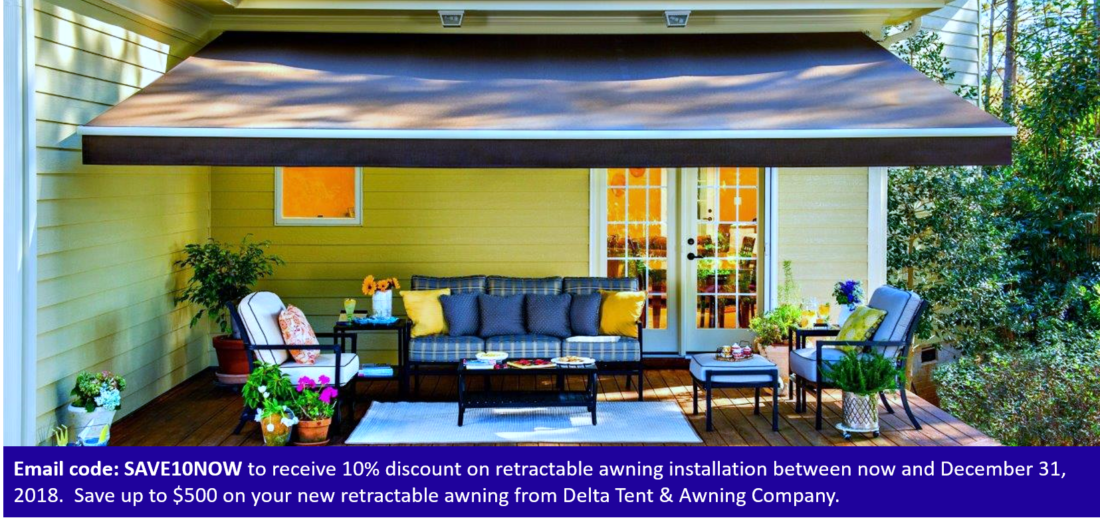 retractable awning coupon